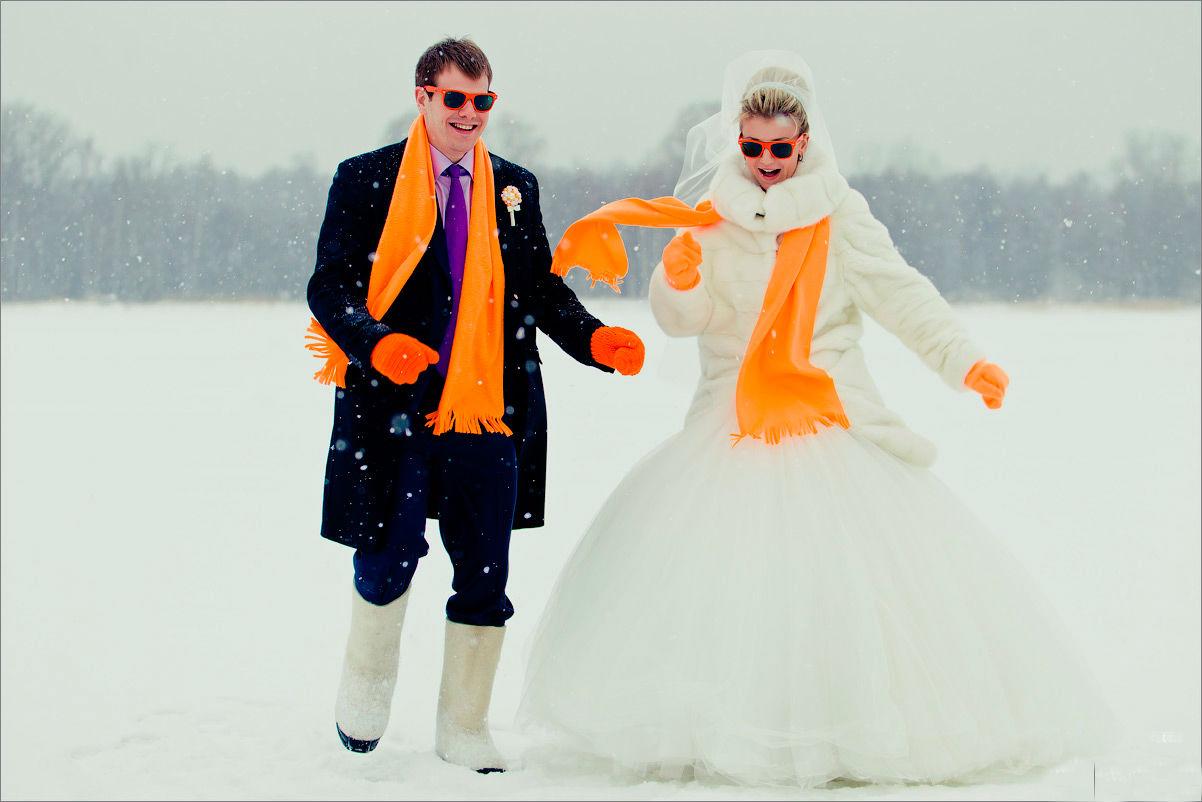 как одеться на свадьбу зимой 3