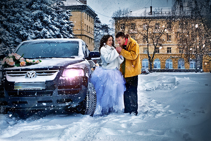 как одеться на свадьбу зимой 4
