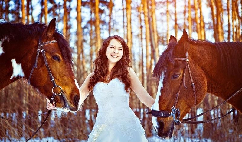 с лошадьми
